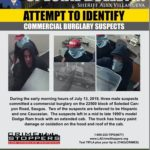 Santa Clarita Sheriff Station Report - Burglars Caught - More Sought